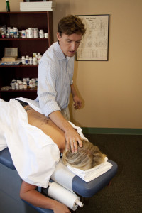 Challenging the upper cervical spine in real-time.