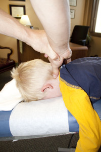 Neck pain cause is quickly identified using DNFT® chiropractic.